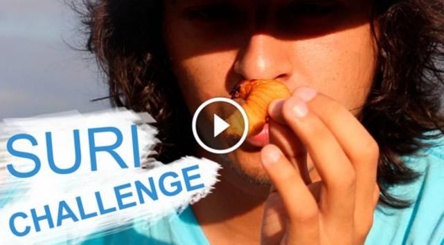 ¿Comerías un gusano vivo? Ellos se sometieron a este reto peruano