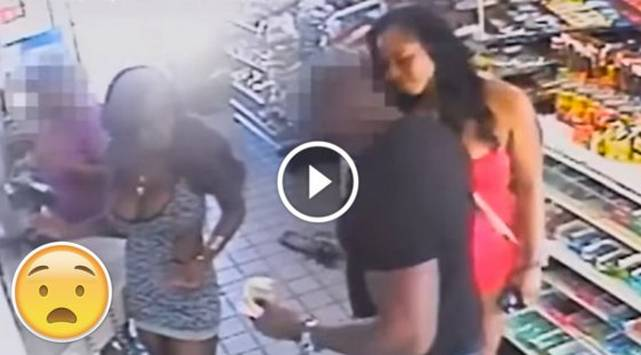 Cámara las grabó cuando acosaban a un hombre y ahora son buscadas por la policía