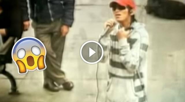Cantante peruano se hace pasar por ciego y este fue el drama que padeció