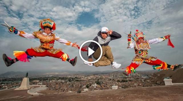 ¡Increíble! Danzantes de tijera se enfrentan a breakdancers