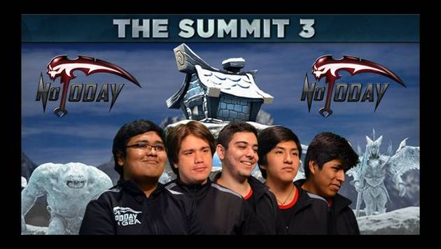 Not Today en The Summit 3: toda la info del equipo peruano de DOTA 2