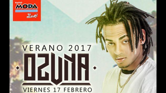 ¡Ozuna regresa a Perú para un conciertazo que no te puedes perder! Aquí los detalles