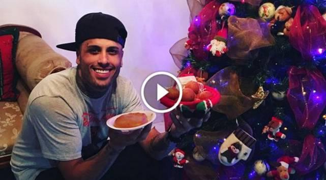 ¡Nicky Jam te desea así una Feliz Navidad!