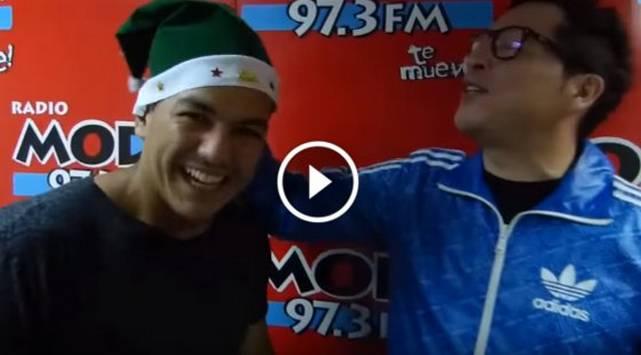¡Carloncho y Renzo ya celebran la Navidad!