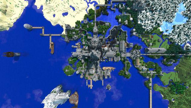 Pasó cinco años en Minecraft construyendo un castillo y este fue el resultado [FOTOS]