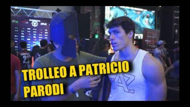 Los de 'Dota 2', al ver a Patricio Parodi, lo tratan así [VIDEO]