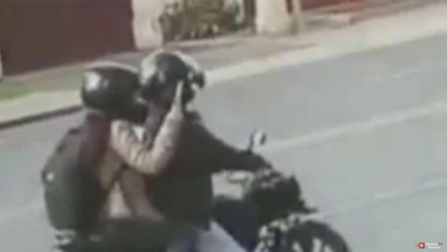 ¡Qué miedo! Figura de televisión denuncia que le 'mandaron la moto'