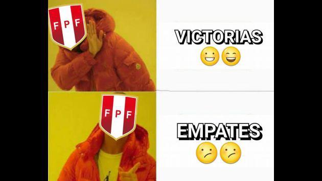 ¡Los divertidos memes que dejó el Perú vs. Argentina!