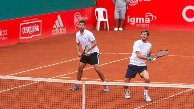 Lima Challenger Copa Claro: Mauricio Echazú es semifinalista en dobles