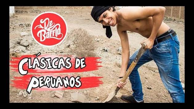 YouTube: De Barrio y las Clásicas de peruanos