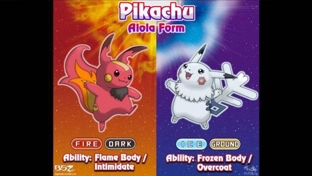 El nuevo aspecto de Pikachu en 'Pokémon Sun & Moon' intriga a fans