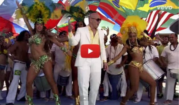 Pitbull y la canción oficial del Mundial Brasil 2014