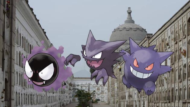 ¿Te atreves a hacer este recorrido para capturar pokémones fantasmas? Entra aquí