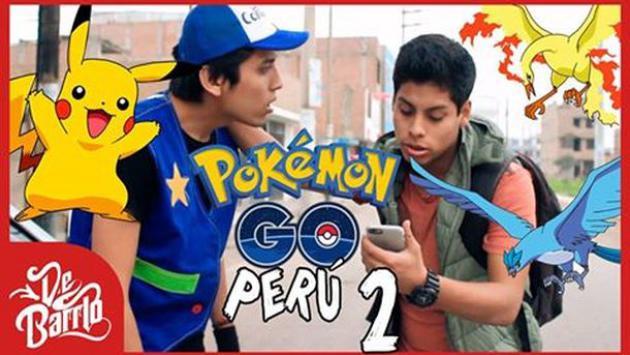 ¡No te pierdas la segunda parte de la parodia de Pokémon GO en Perú de DeBarrio!