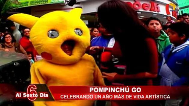 ¡'Pompinchú' reapareció en medio de la fiebre de Pokémon Go, aunque no todo es humor en su vida!