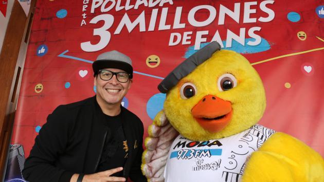 ¡'La Pollada de Carloncho' por los '3 millones de fans de Moda' fue un éxito!