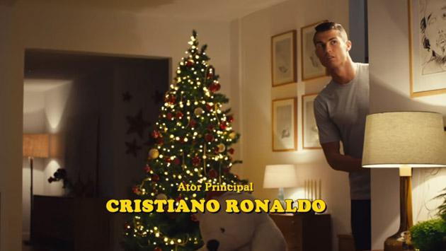 Por Navidad, Cristiano Ronaldo parodió 'Mi pobre angelito' [VIDEO]