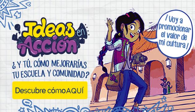 ¡Entérate de qué trata 'Ideas en Acción' y participa! ¡Tu aporte es importante!