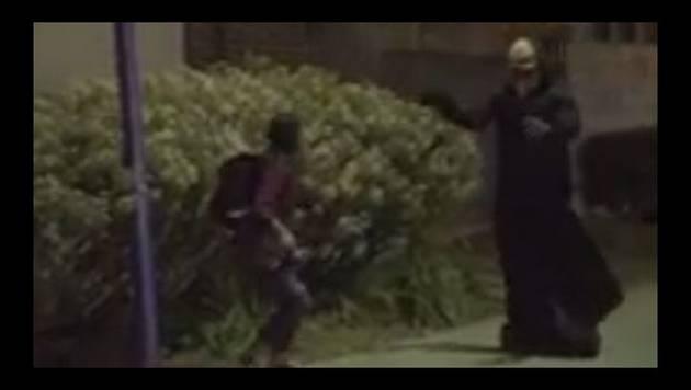 YouTube: Tremendo susto por broma con 'El fantasma volador'