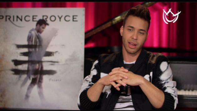 ¡Prince Royce habló de Shakira y otros detalles de su nuevo disco!