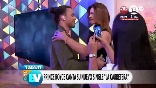 Prince Royce sorprendió a la televisión chilena por 'nuevo look'