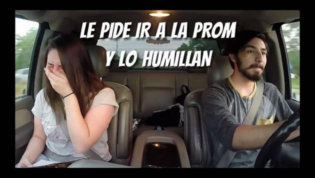 Pide a su novia ir a la prom y lo humilla épicamente