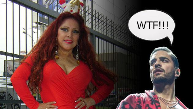 ¿Qué dirá Maluma? Monique Pardo canta 'Felices los 4' con baile incluido [VIDEOS]