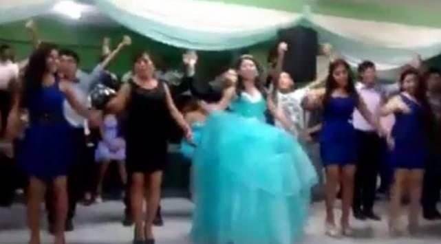 El baile de esta quinceañera peruana se convirtió en viral ¡Te sorprenderá!