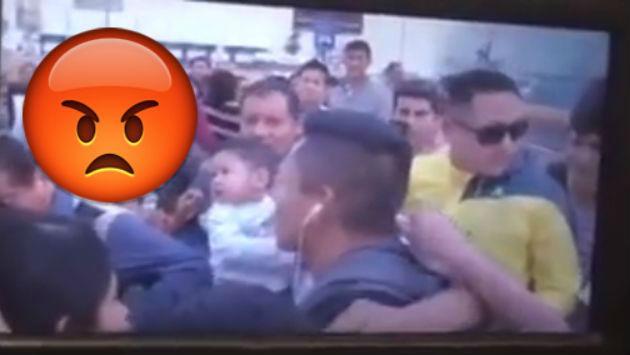 ¡El colmo! A Ruidíaz le quisieron robar en aeropuerto [VIDEO]