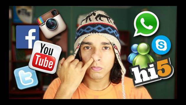 YouTube: típicas de redes sociales