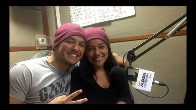 Renzo canta lentejita de Camila con Marianita
