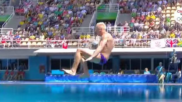 ¿Este es el peor clavado de Río 2016? ¡Y lo hizo un exmedallista de oro!