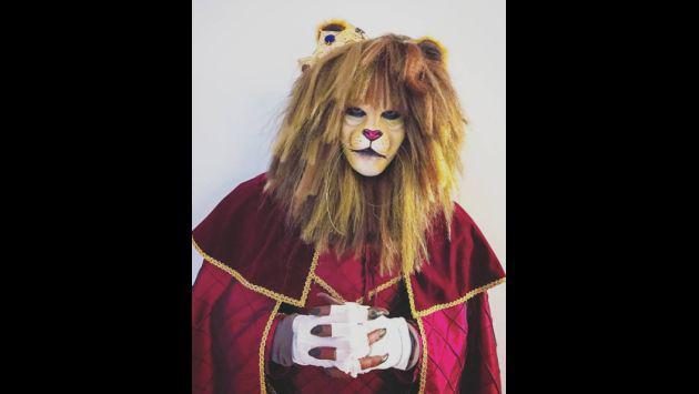 ¿Reconoces a Romeo Santos con este disfraz de Halloween?
