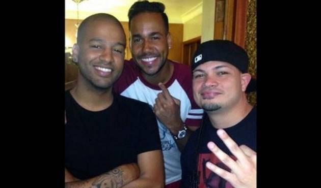 Jowell y Randy se reunieron con Romeo Santos