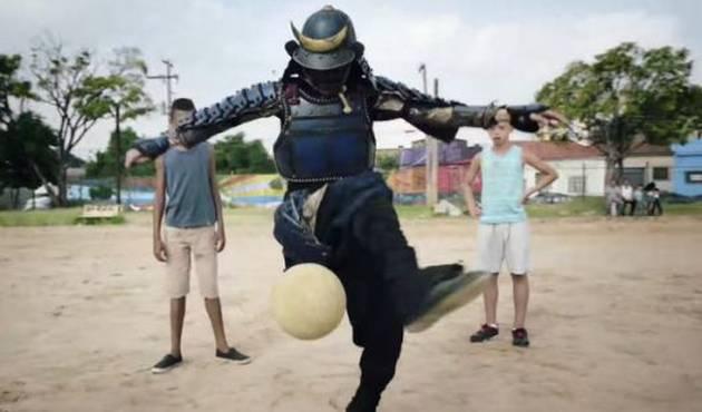 Samurai en Brasil la rompe en redes sociales