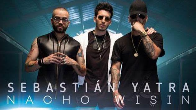 ¡Salió el videoclip de 'Alguien robó', el nuevo tema de Sebastián Yatra con Wisin y Nacho!