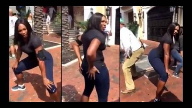 ¡Serena Williams se mandó con tremendo 'twerking'!