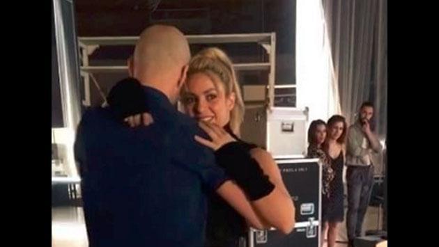 Shakira ya se mueve con la bachata para el videoclip de 'Deja Vu!' con Prince Royce [VIDEO]
