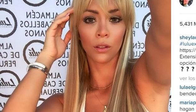 Así luce Sheyla Rojas sin extensiones ¡Cambió radicalmente su look!