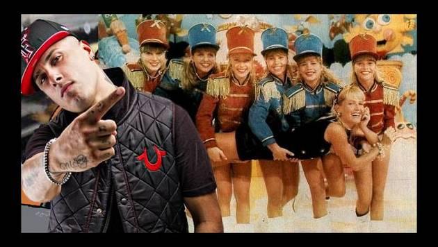 Nicky Jam canta canción infantil de Xuxa