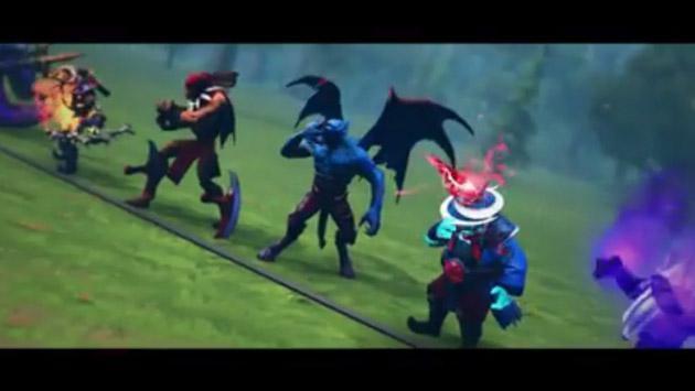Si los héroes de 'Dota 2' participaran en una carrera, esto pasaría [VIDEO]