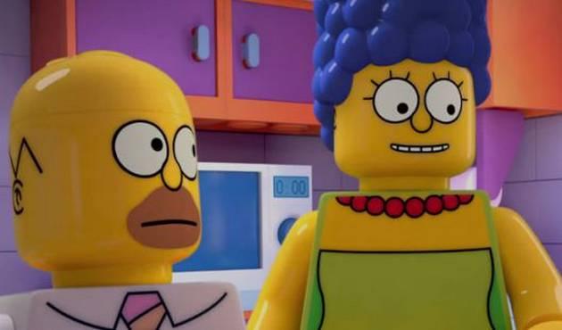 Sale capítulo de Los Simpsons con Legos