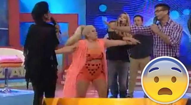 ¡Sofía Franco y conductora ecuatoriana protagonizaron bochornosa pelea en vivo!