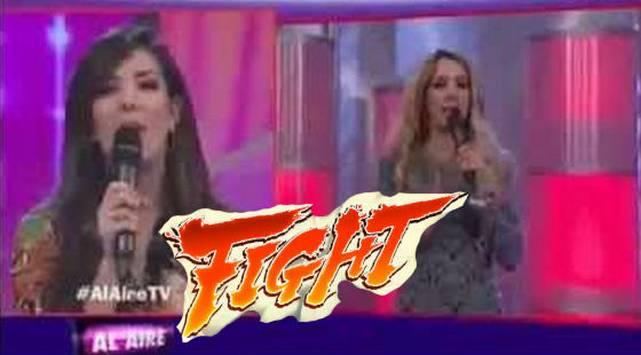 Sofía Franco vs. Silvia Cornejo y otras peleas que protagonizó en vivo