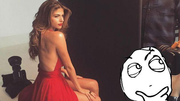 Stephanie Cayo publicó esta sensual foto, pero sus fans la trolearon por este pequeño detalle