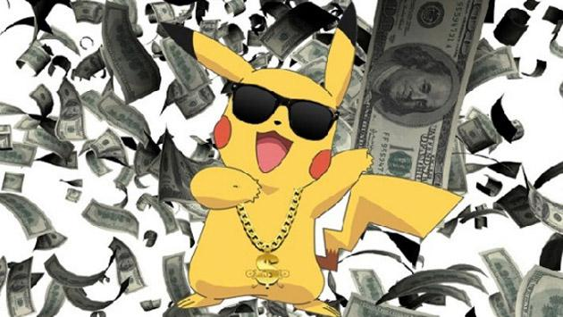 Te sorprenderá saber cuánto dinero hace 'Pokémon GO' por minuto