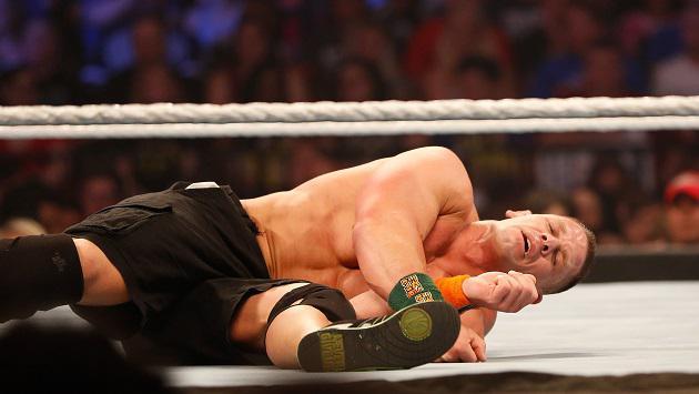 The Miz dejó fuera a John Cena de la Batalla Real WWE SmackDown Live (VIDEO)