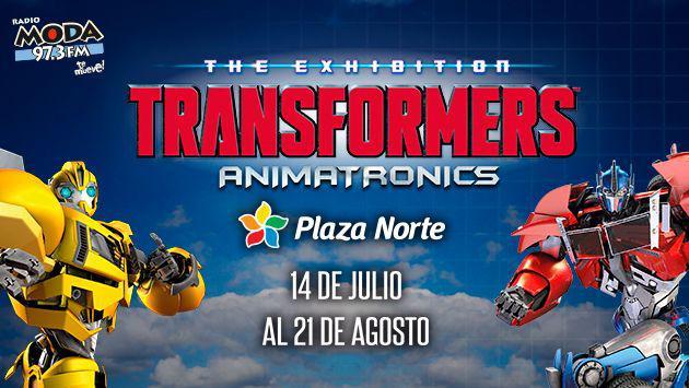 ¡Salieron los ganadores de las entradas para TRANSFORMERS ANIMATRONICS!