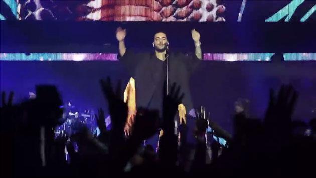 Un resumen de lo que fue el concierto de Maluma en Boston [VIDEO]