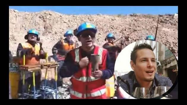 ¡Mineros peruanos la rompen con playback de 'Una cerveza'!